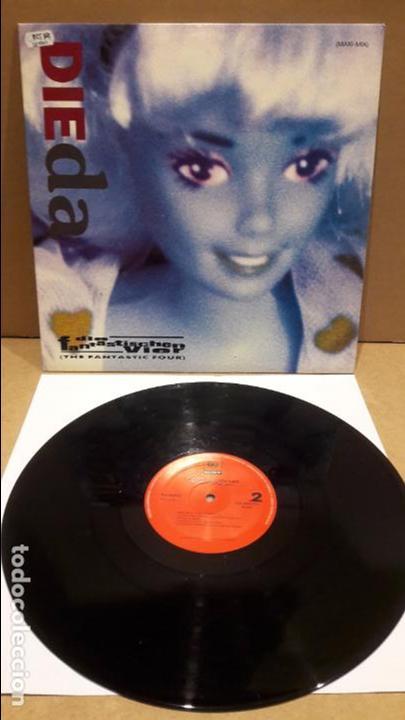 DIE FANTASTICHEN VIER. DIE DA ? MAXI-SG / CBS-SONY - 1992 / MBC. ***/*** (Música - Discos de Vinilo - Maxi Singles - Rap / Hip Hop)