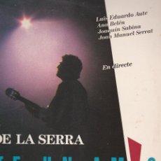 Discos de vinilo: DOBLE LP QUICO PI DE LA SERRA. QUI TÉ UN AMIC. 1989 SPAIN. AUTE, SERRAT, SABINA... PROVAT I BÉ. Lote 84658976