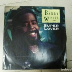 Discos de vinilo: LP BARRY WHITE SUPER LOVER. Lote 84665556