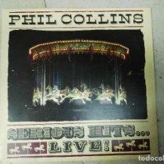 Discos de vinilo: DOBLE LP PHIL COLLINS SERIOUS HITS LIVE. Lote 84665772