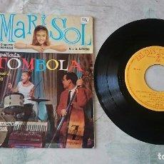 Discos de vinilo: MARISOL: TÓMBOLA + 3 (MONTILLA 1962). Lote 84673852