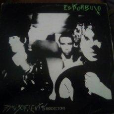 Discos de vinilo: ESKORBUTO - ESKIZOFRENIA (REEDICION) DISCOS SUICIDAS 1987 LP. Lote 84688104