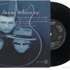 Discos de vinilo: EP	IF YOU REALLY LOVE ME (LET ME GO)	DANNY WILSON 	EP	VIRGIN	1991. Lote 84689116
