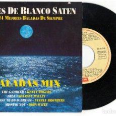 Discos de vinilo: EPNOCHES DE BLANCA SATEN - BALADAS MIXVARIOSEPEMI1991. Lote 84691188