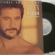 Discos de vinilo: LPQUE TIENES EN LA CAMAJUAN PARDOLPHISPAVOX1986. Lote 84694252