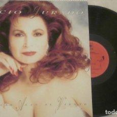 Discos de vinilo: LP ROCIO JURADO COMO LAS ALAS AL VIENTO CBS SONY 1993. Lote 84694748