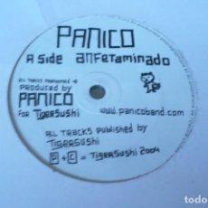 Discos de vinilo: PANICO ?– ANFETAMINADO / QUE PASA WEY, TIGERSUSHI ?– TSR 015, FRANCIA 2004.. Lote 84717796