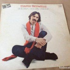 Discos de vinilo: MARCO FERRADINI. SCHIAVO SENZA CATENE. SPAGUETTI RECORDS. 1981. MINI LP . Lote 84736988