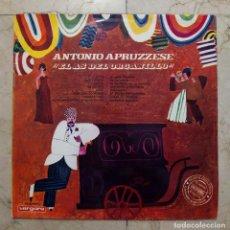 Discos de vinilo: LP ANTONIO APRUZZESE - EL AS DEL ORGANILLO - VERGARA 1966.. Lote 84742328