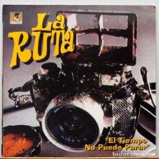 Discos de vinilo: LA RUTA – EL TIEMPO NO PUEDE PARAR. Lote 84756248