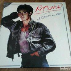 Discos de vinilo: RAMONCÍN - LA VIDA EN EL FILO. Lote 103887270
