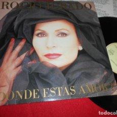 Disques de vinyle: ROCIO JURADO ¿DONDE ESTAS AMOR? LP 1987 EMI EDICION ESPAÑOLA SPAIN. Lote 84791996