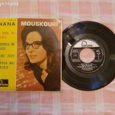 Discos de vinilo: NANA MOUSKOURI 1962 ( DIFICIL). Lote 84792032