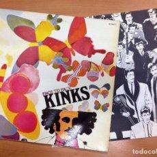 Discos de vinilo: LP THE KINKS /FACE TO FACE EDITADO EN ESPAÑA ZAFIRO 1980 PORTADA Y VINILO ESTADO VG. Lote 84792112