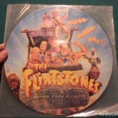 Discos de vinilo: THE FLINTSTONES (PICAPIEDRA) LP PICTURE DISC BSO (BIG AUDIO DINAMITE-GREEN JELLY-BC 52-US 3...) . Lote 84793612