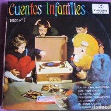 Discos de vinilo: LP - CUENTOS INFANTILES - VOL. 2 (CUADRO DE ACTORES DE RADIO MADRID)(SPAIN, COLUMBIA 1966). Lote 178597425