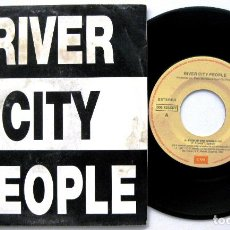 Discos de vinilo: RIVER CITY PEOPLE - THIS IS THE WORLD - SINGLE EMI PROMO 1991 BPY. Lote 84797040