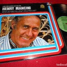 Discos de vinilo: HENRY MANCINI LOS GRANDES EXITOS BSO OST LP 1978 RCA EDICION ESPAÑOLA SPAIN. Lote 84800656