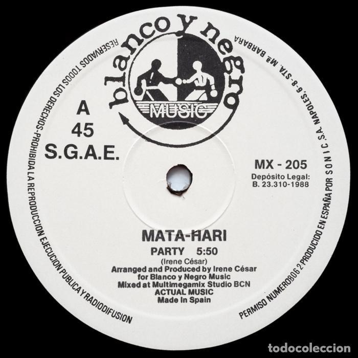 Discos de vinilo: MATA HARI– Party - Foto 3 - 84809512
