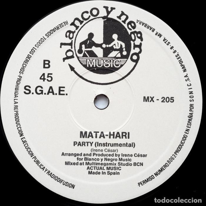 Discos de vinilo: MATA HARI– Party - Foto 4 - 84809512