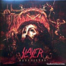 Disques de vinyle: SLAYER - REPENTLESS LP VINYL 2015 ED EUROPE - GATEFOLD - PORTADA ABIERTA -NEAR MINT - COMO NUEVO. Lote 84811920