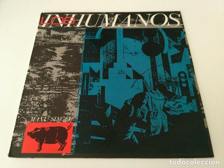 LOS INHUMANOS - ERES UNA FOCA (Música - Discos de Vinilo - Maxi Singles - Grupos Españoles de los 70 y 80)