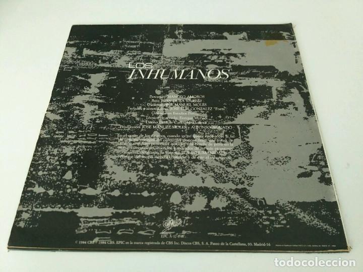 Discos de vinilo: Los Inhumanos - Eres una foca - Foto 2 - 84831248