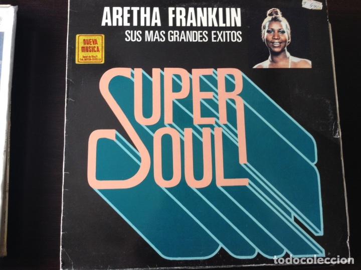 ARETHA FRANKLIN. SUPER SOUL. (Música - Discos - LP Vinilo - Funk, Soul y Black Music)