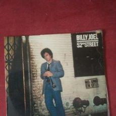 Discos de vinilo: BILLY JOEL 52ND STREET. Lote 84837136