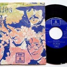Discos de vinilo: THE BEATLES - GET BACK - SPAIN 1969 45 RPM. Lote 84842880