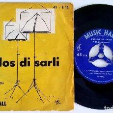 Discos de vinilo: ? EP CARLOS DI SARLI - EL SEÑOR DEL TANGO (ARGENTINA) VINILO 45 RPM ?. Lote 84845992