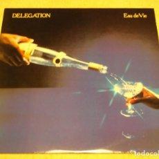 Discos de vinilo: DELEGATION ( EAU DE VIE ) 1979-SWEDEN LP33 ARIOLA. Lote 84850464