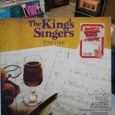 Discos de vinilo: THE KING´S SINGERS - ENCORE - LP. 1971. Lote 84854152