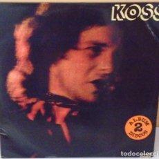 Discos de vinilo: PAUL KOSSOFF (FREE) - D J M PROMOCIONAL - 1978 2 LP´S GAT CON HOJA PROMO. Lote 84856060