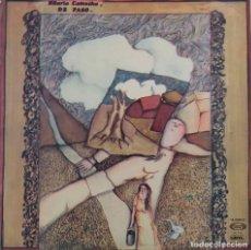 Disques de vinyle: HILARIO CAMACHO. DE PASO. LP 1975 EN MOVIEPLAY. Lote 84857784