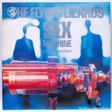 Discos de vinilo: THE FLYING LIZARDS – SEX MACHINE. Lote 84860404