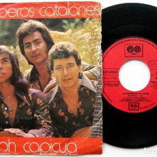 Discos de vinilo: LOS RUMBEROS CATALANES - OH CAPICUA - SINGLE AUVI 1978 BPY. Lote 84875856