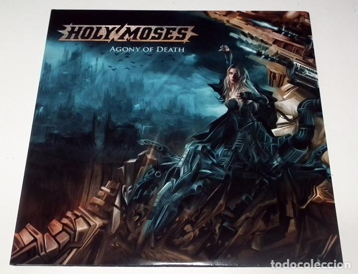 LP HOLY MOSES - AGONY OF DEATH (Música - Discos - LP Vinilo - Heavy - Metal)