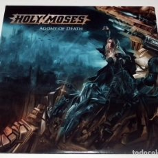 Discos de vinilo: LP HOLY MOSES - AGONY OF DEATH. Lote 51404111