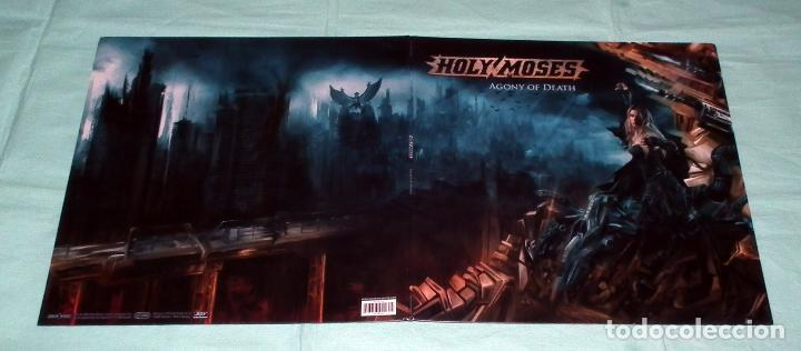 Discos de vinilo: LP HOLY MOSES - AGONY OF DEATH - Foto 3 - 51404111