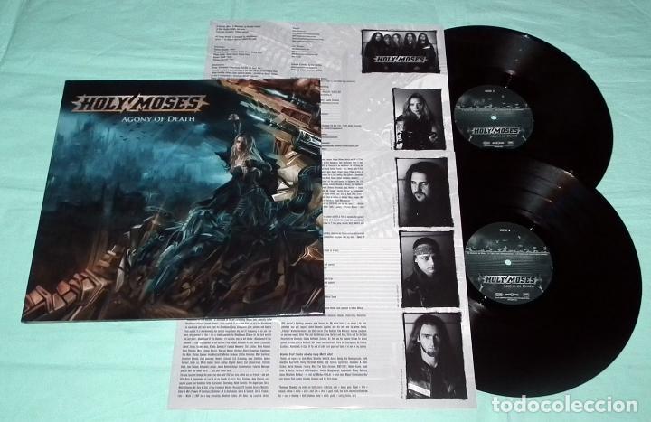 Discos de vinilo: LP HOLY MOSES - AGONY OF DEATH - Foto 5 - 51404111