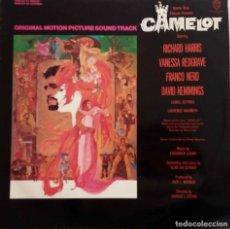 Discos de vinilo: CAMELOT. R. HARRIS. V. REDGRAVE. LP ORIGINAL ESPAÑA 1967. Lote 84898024