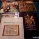 Discos de vinilo: CANTO GREGORIANO - LOTE DE 5 LP'S - SANTO DOMINGO DE SILOS - ABADIA DE SAN PEDRO DE SOLESMES - ETC... Lote 84899752