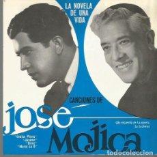 Discos de vinilo: JOSE MOJICA EP PORTADA DOBLE SELLO RCA EDITADO EN ESPAÑA DE LA NOVELA DE UNA VIDA DE LECHE LA LECHER. Lote 84912380
