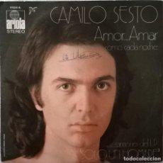 Disques de vinyle: CAMILO SESTO-AMOR.....AMAR , ARIOLA-11.524-A, ARIOLA-11524-A. Lote 84939556