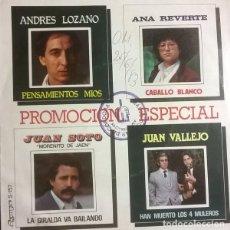 Discos de vinilo: PROMOCIÓN ESPECIAL, OLYMPO-S-157. Lote 84940760