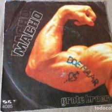 Discos de vinilo: DOE MAAR. MACHO. GROTE BORRE. 1986. ED ALEMANA.. Lote 84959864