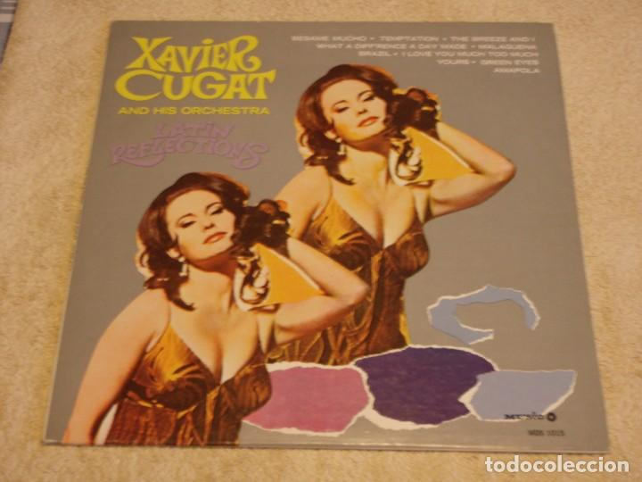 XAVIER CUGAT AND HIS ORCHESTRA ( LATIN REFLECTIONS ) ILLINOIS-USA LP33 MUSIC REDORDS (Música - Discos - LP Vinilo - Grupos y Solistas de latinoamérica)