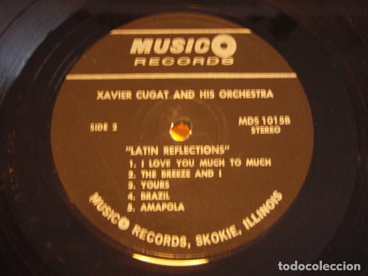 Discos de vinilo: XAVIER CUGAT AND HIS ORCHESTRA ( LATIN REFLECTIONS ) ILLINOIS-USA LP33 MUSIC REDORDS - Foto 4 - 183363161