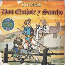 Disques de vinyle: BOTONES,DON QUIJOTE Y SANCHO DEL 79. Lote 84977560
